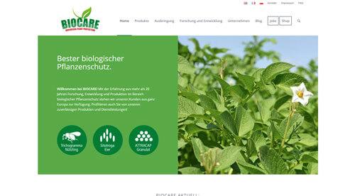 BIOCARE Gesellschaft für Biologische Schutzmittel mbH