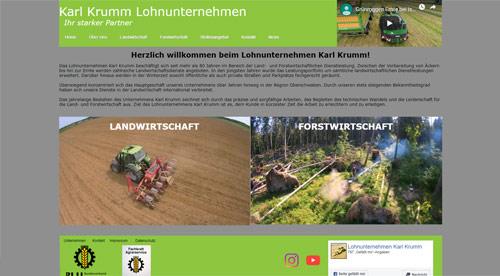 Landwirtschaftliches Lohnunternehmen Karl Krumm