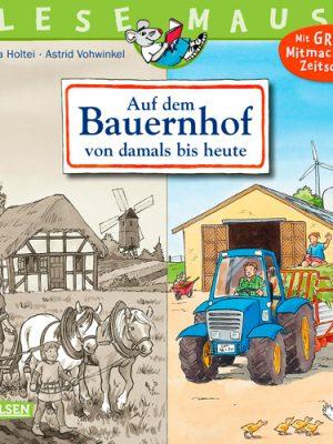 LESEMAUS - Bauernhof – damals und heute
