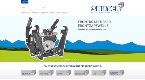 Hans Sauter GmbH Landtechnik-Stahlbau