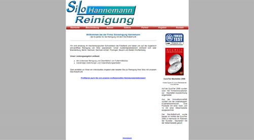Siloreinigung Hannemann