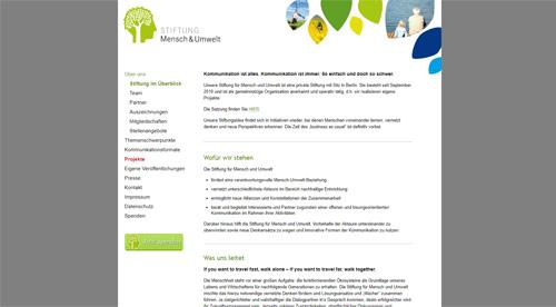 Stiftung für Mensch und Umwelt